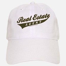 ATHLETE (Khaki Brown) Baseball Baseball Cap for the Realtor