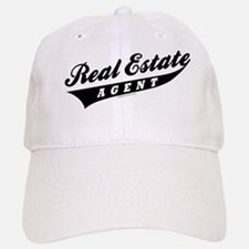 ATHLETE (Black) Baseball Baseball Cap for the Realtor