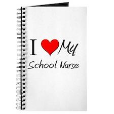 I Heart My School Nurse Journal