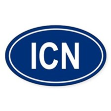ICN Oval Decal