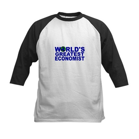 World's Greatest Economist Kids Baseball Jersey