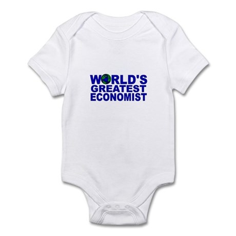 World's Greatest Economist Infant Bodysuit