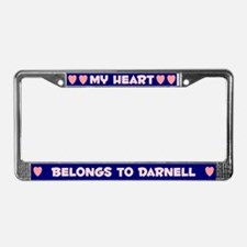 My Heart: Darnell (#008) License Plate Frame
