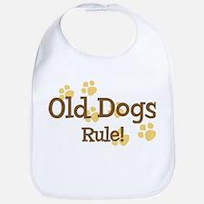 Old Dogs Rule Bib