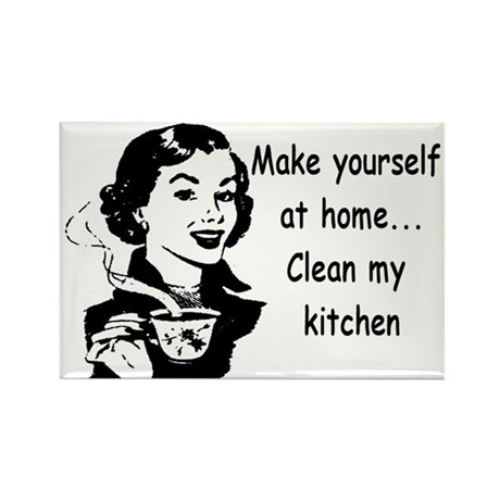 Make yourself at home clean my kitchen by gutbustertees for Make my home com