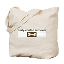 Curly-Coated Retriever Dog Bo Tote Bag