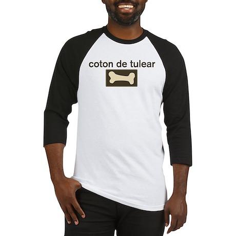 Coton de Tulear Dog Bone Baseball Jersey