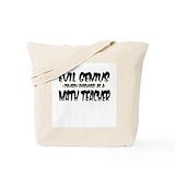 Maths ninja Bags & Totes