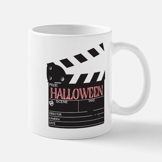 Halloween Clapper Board Mugs