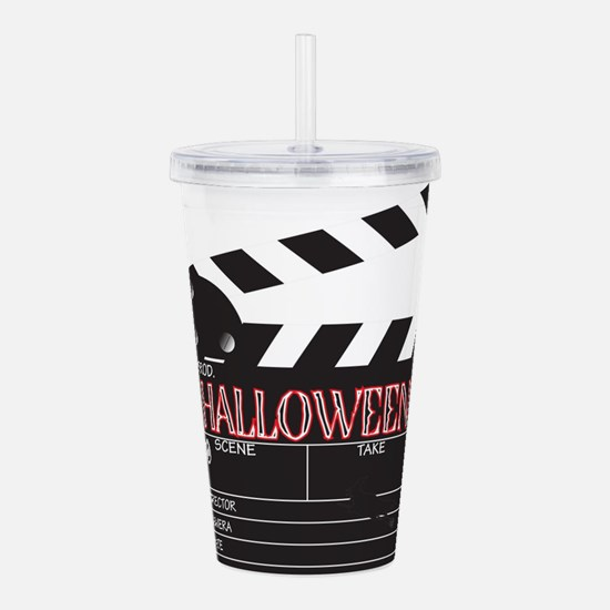 Halloween Clapper Boar Acrylic Double-wall Tumbler