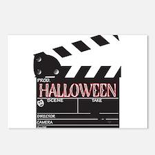 Halloween Clapper Board Postcards (Package of 8)