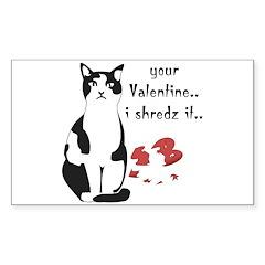 LOL cat Shredz it.. Rectangle Decal