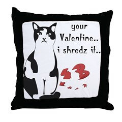 LOL cat Shredz it.. Throw Pillow