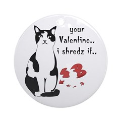 LOL cat Shredz it.. Ornament (Round)