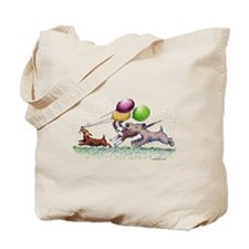 Dog Balloon Party Tote Bag