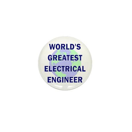 World's Greatest Electrical E Mini Button (100 pac