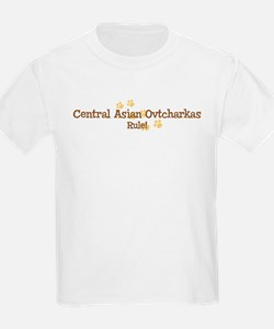 Central Asian Ovtcharkas Rule T-Shirt
