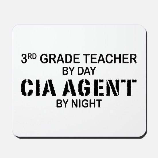 3rd Grade Teacher CIA Mousepad