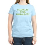 Sleepless in the Emerald City Women's Light T-Shir