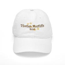Tibetan Mastiffs Rule Baseball Cap