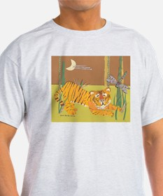 Tiger & Dragonfly Men's T-shirt