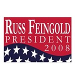 Russ Feingold for President (8 Postcards)