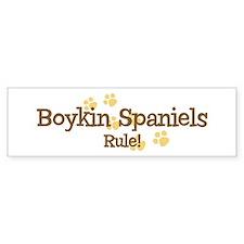 Boykin Spaniels Rule Bumper Bumper Sticker