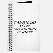4th Grade Teacher Superhero Journal
