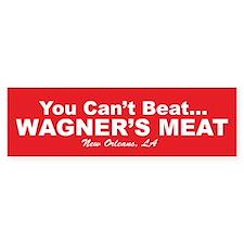 Wagner's Meat Bumper Bumper Sticker