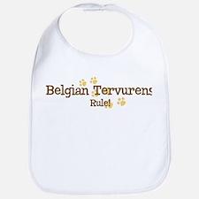 Belgian Tervurens Rule Bib