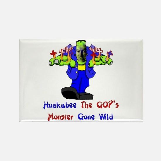 Huckabee GOP Monster Rectangle Magnet