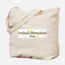 Iceland Sheepdogs Rule Tote Bag