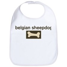 Belgian Sheepdog Dog Bone Bib