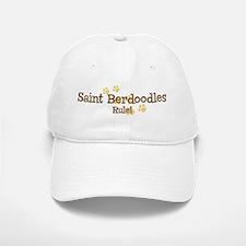 Saint Berdoodles Rule Baseball Baseball Cap
