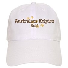 Australian Kelpies Rule Baseball Cap