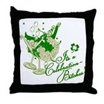 It's A Celebration Bitches Retro Throw Pillow