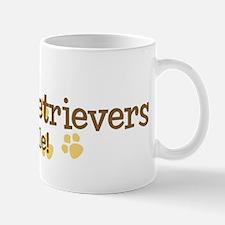 Golden Retrievers Rule Mug