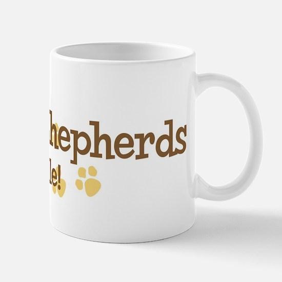 German Shepherds Rule Mug
