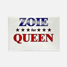 ZOIE for queen Rectangle Magnet