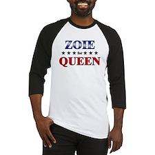 ZOIE for queen Baseball Jersey