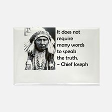 Truth Quote Rectangle Magnet
