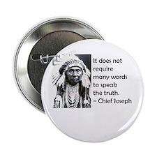 "Truth Quote 2.25"" Button"