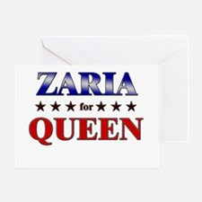 ZARIA for queen Greeting Card