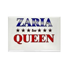 ZARIA for queen Rectangle Magnet