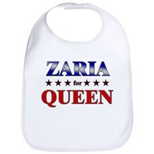 ZARIA for queen Bib