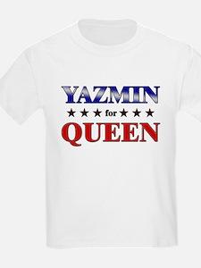 YAZMIN for queen T-Shirt