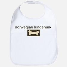 Norwegian Lundehund Dog Bone Bib