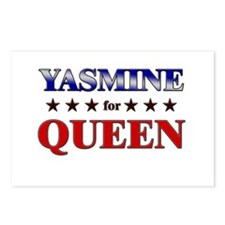 YASMINE for queen Postcards (Package of 8)