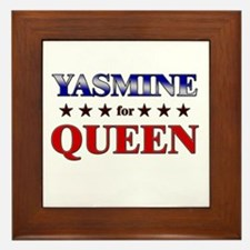 YASMINE for queen Framed Tile