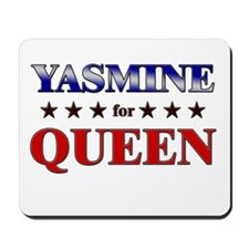 YASMINE for queen Mousepad
